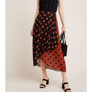 Anthropologie Maeve Oksana Midi Skirt NWT Plus 1X